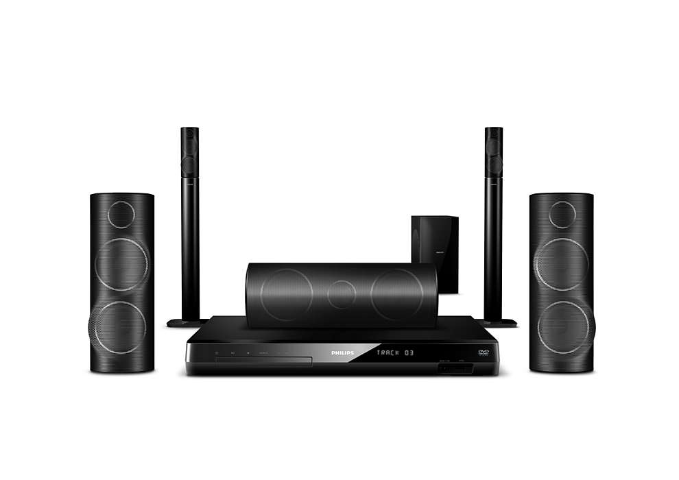 Cinematic surround sound with 3D Angled Speakers