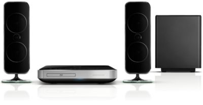 Philips 2.1 home cinema HTS7200 Blu-ray Discs afspelen