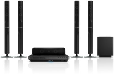Philips  5.1 Home theater Blu-ray Disc playback HTS7540/98