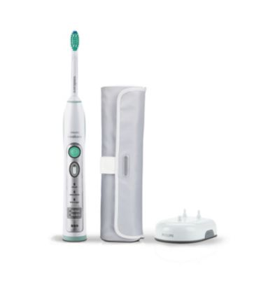 FlexCare 3 modes 1 brush head Rechargeable sonic toothbrush