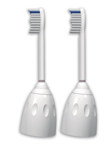 e-Series 2-pack Standard sonic toothbrush heads