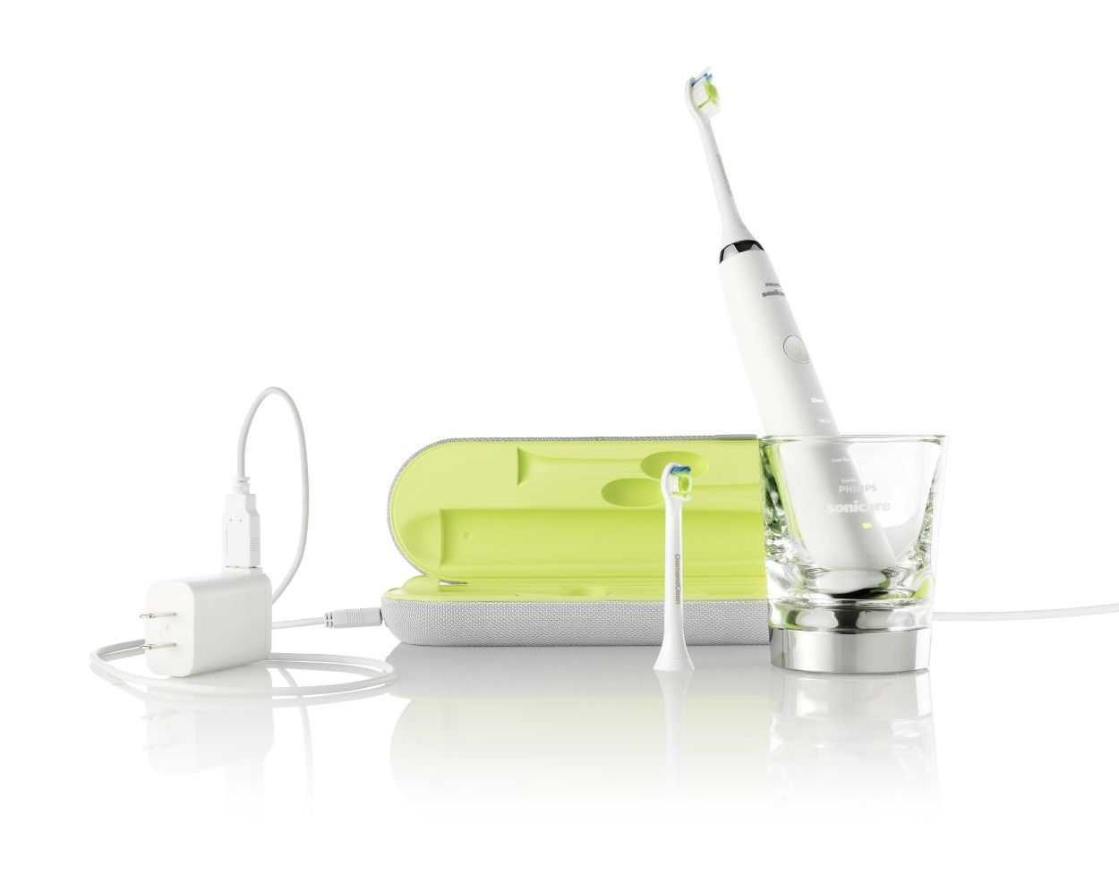 how to clean philip s sonicare airfloss video