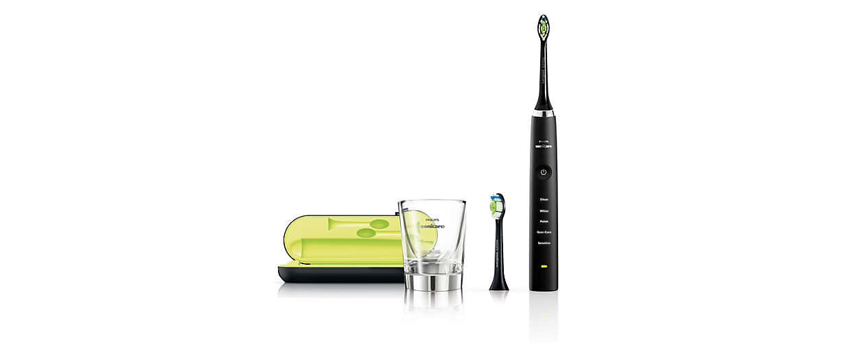 diamondclean sonic electric toothbrush hx9352 04 sonicare. Black Bedroom Furniture Sets. Home Design Ideas