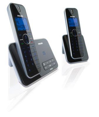 Draadloze telefoon (Slim line) met antwoordapparaat