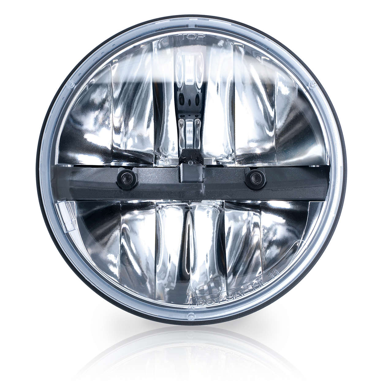 LED Headlamp 7 Round LED01X1