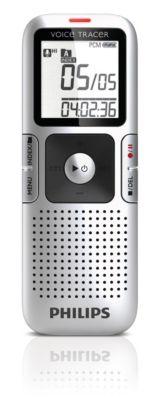 Digitale recorder met stereo-opnamen en ClearVoice