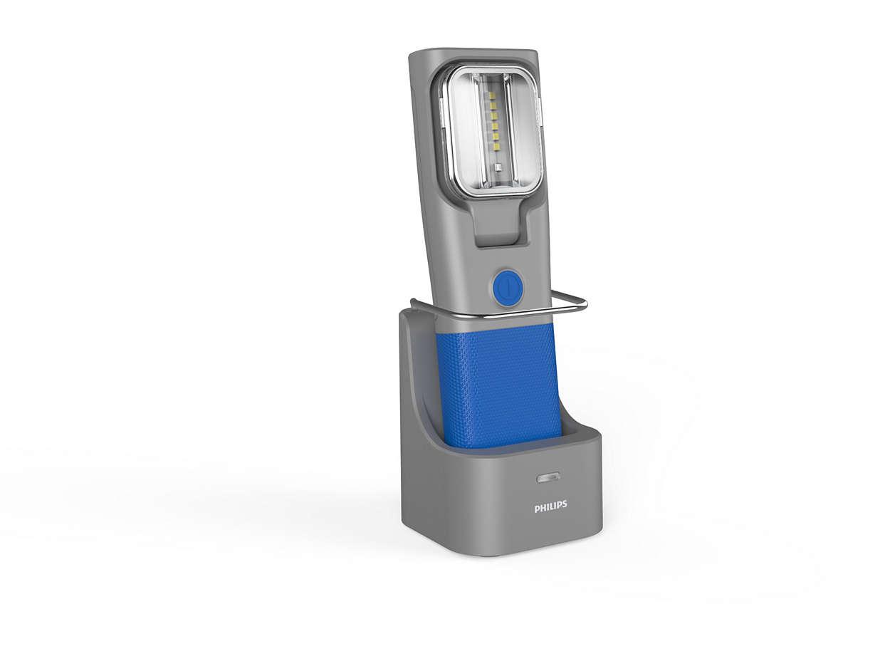 led inspection lamps lampe rechargeable avec station d. Black Bedroom Furniture Sets. Home Design Ideas