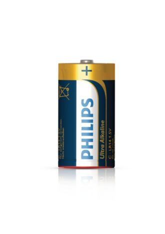 Philips  Battery C LR14E2B/17