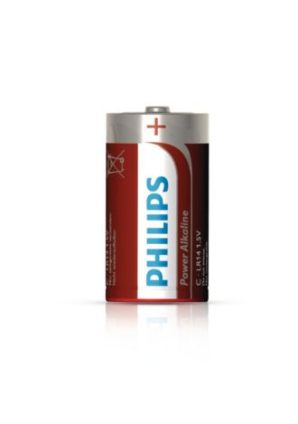 Philips  Battery C LR14P2B/17
