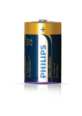 Philips  Battery D LR20E2B/17