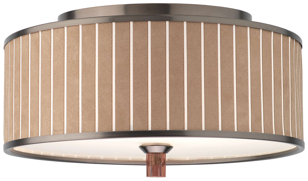 Haberdasher 2-light Ceiling in Oiled Bronze finish
