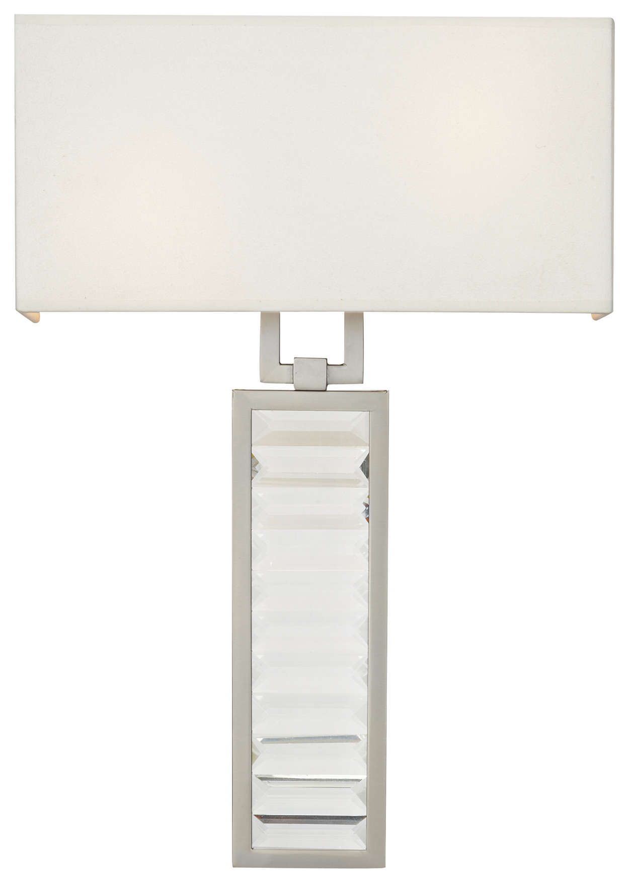 Zsa Zsa 2-light Bath in Brushed Nickel finish