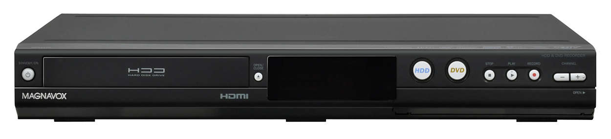500GB HDD & DVD Recorder