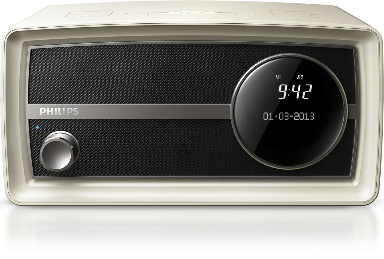 original radio im miniformat mit bluetooth ort2300c 10 philips. Black Bedroom Furniture Sets. Home Design Ideas