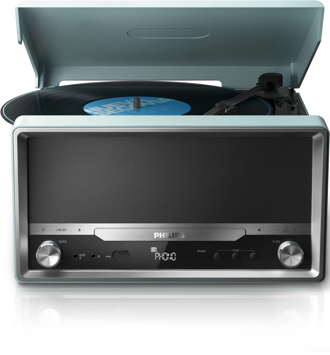 Classic Micro Sound System Ott2000 12 Philips
