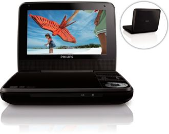 Philips  Portable DVD Player 18cm/ 7