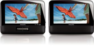 Philips  Reproductor de DVD portátil LCD de 7