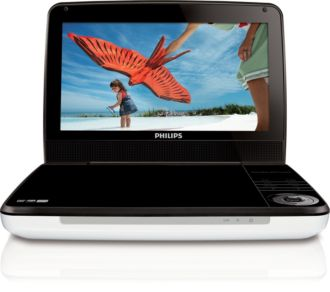 Philips  Portable DVD Player 23 cm/9
