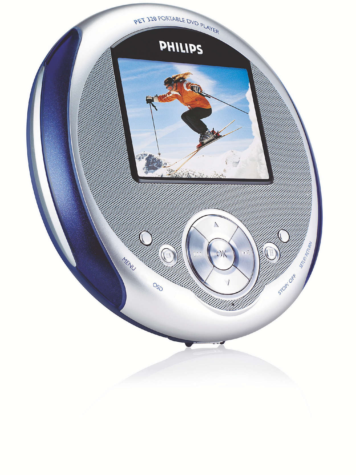 Portable Dvd Player Pet320 37 Philips