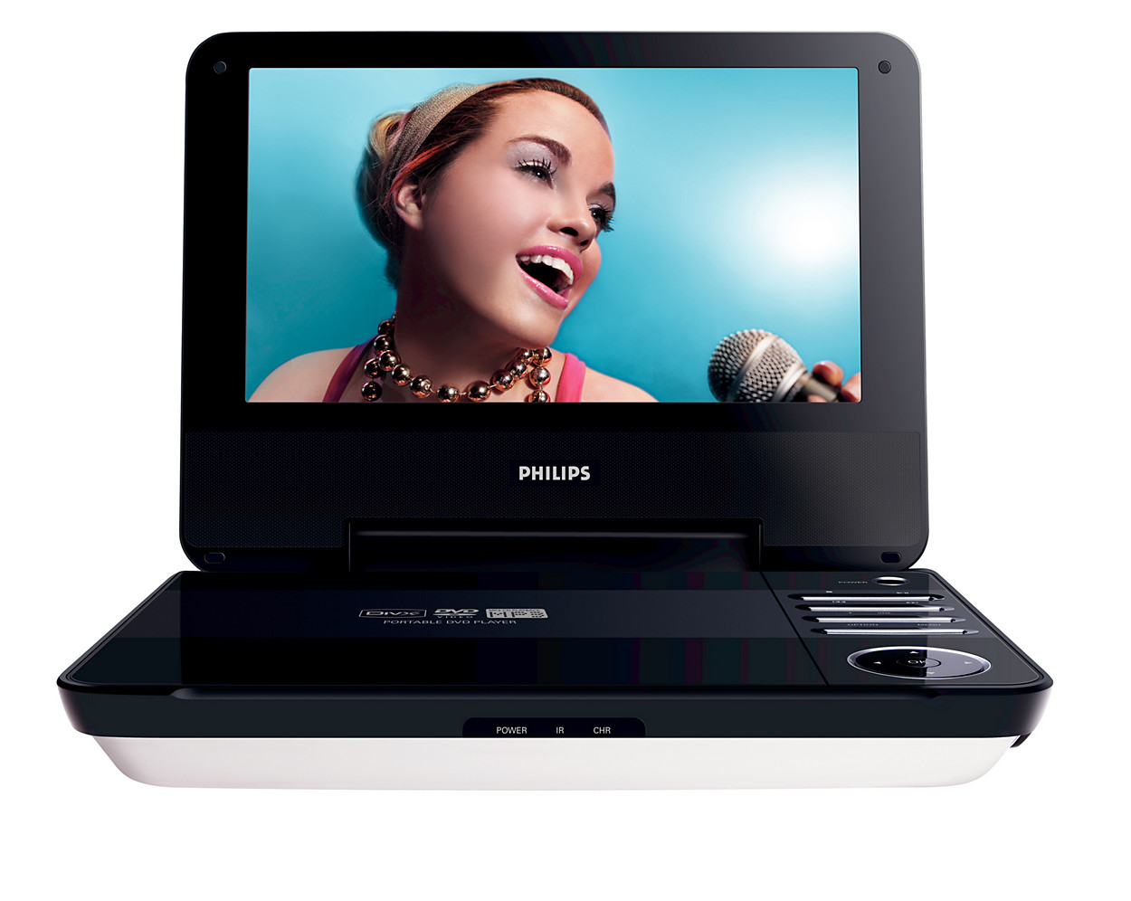 buy the philips portable dvd player pet740 05 portable dvd. Black Bedroom Furniture Sets. Home Design Ideas