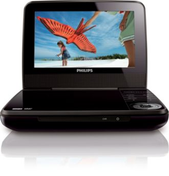 Philips  Portable DVD Player  PET741B/37