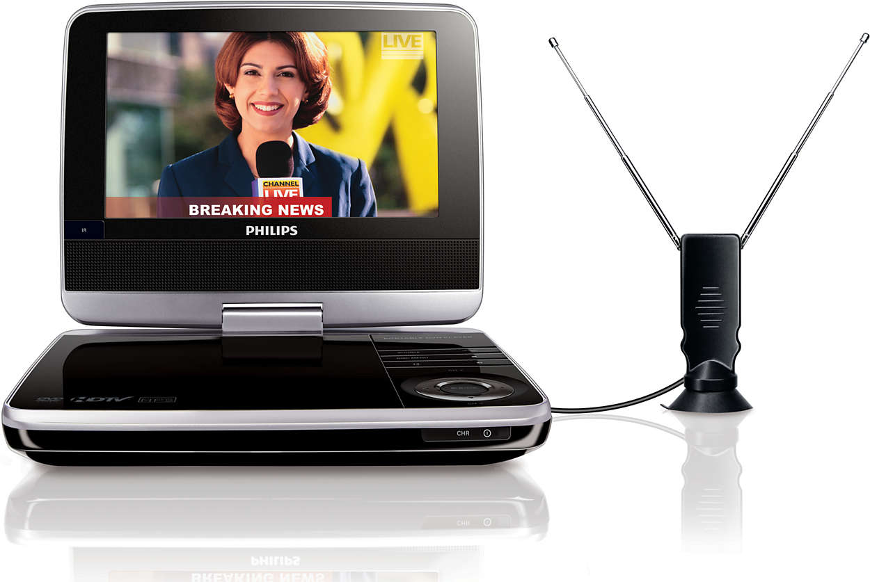 Enjoy portable DVD and digital TV