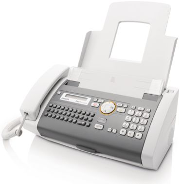 Philips  Fax de papel normal voz PPF755/PTW
