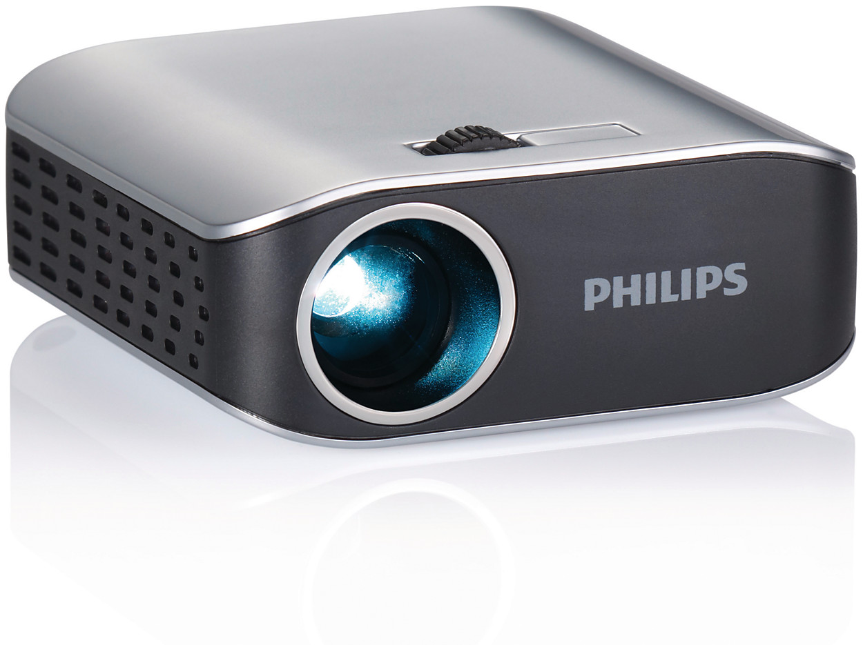 Buy the philips picopix pocket projector ppx2055 f7 for Pocket projector video