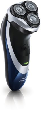 Philips Norelco Shaver 3700 Dry electric shaver, Series 3000 PT735/41 DualPrecision heads Flex & Float system 45 min shaving, 8 hour charge