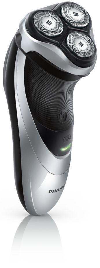 Электробритва для сухого бритья, плавающие головки DualPrecision