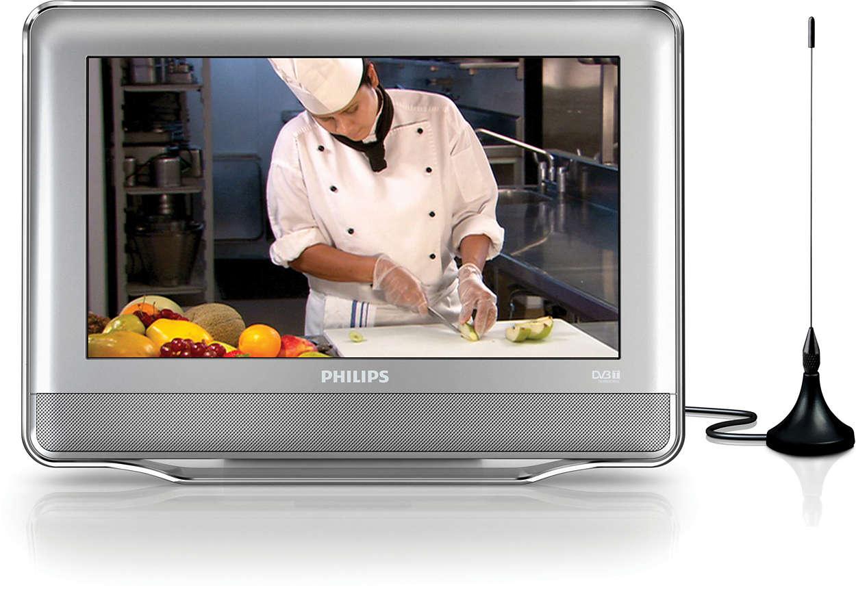 T l viseur portable pt9000 12 philips - Televisores para cocina ...