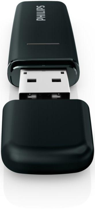 Philips  Adaptador Wi-Fi USB para televisores Philips PTA127/55