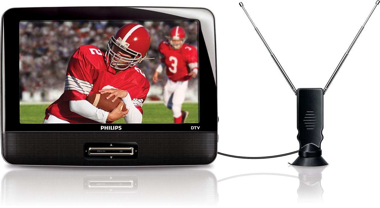Buy the philips portable tv pvd900 37 for Mobile porta tv