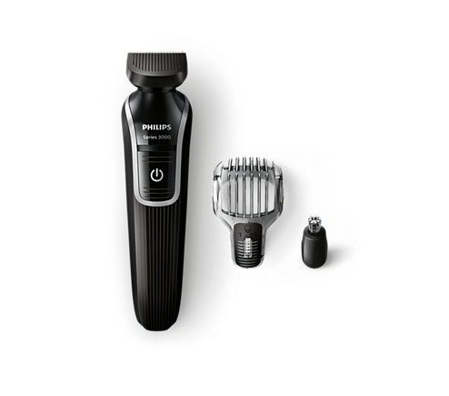 multigroom series 3000 3 in 1 beard detail trimmer qg3320 15 philips. Black Bedroom Furniture Sets. Home Design Ideas