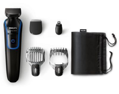 Philips Tondeuse barbe et cheveux 5 en 1 QG3330/15