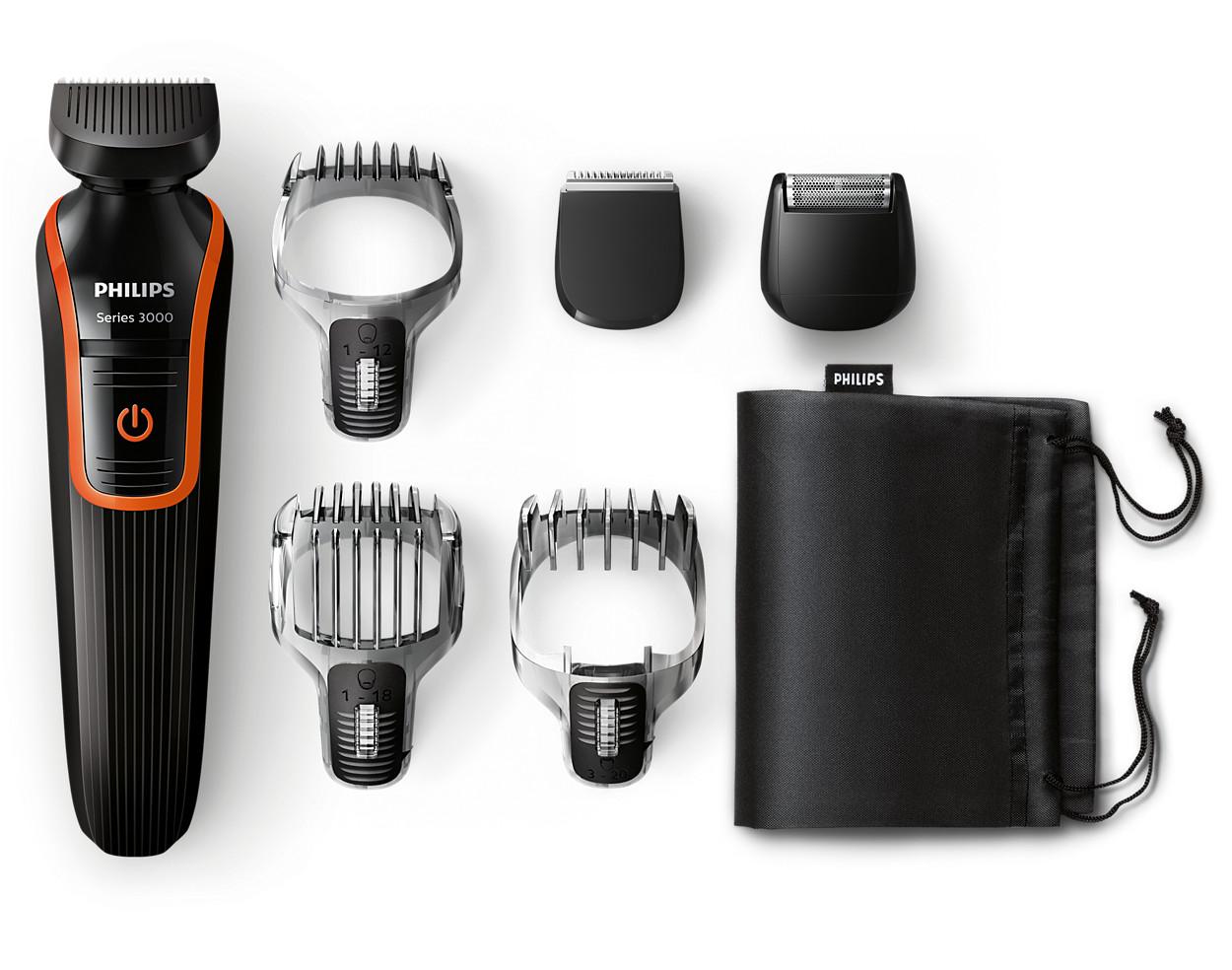 multigroom series 5000 grooming kit qg3347 15 philips. Black Bedroom Furniture Sets. Home Design Ideas