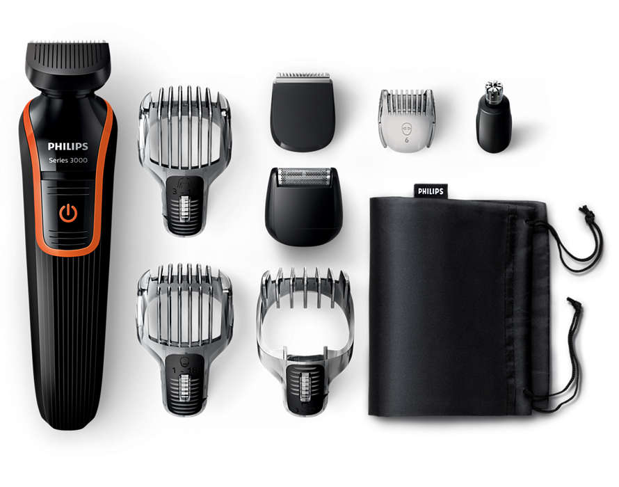 All-in-one beard, hair and body trimmer
