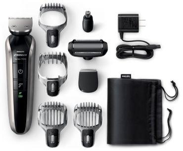 Philips Norelco Multigroom 7100 Max performance head to toe Grooming Kit