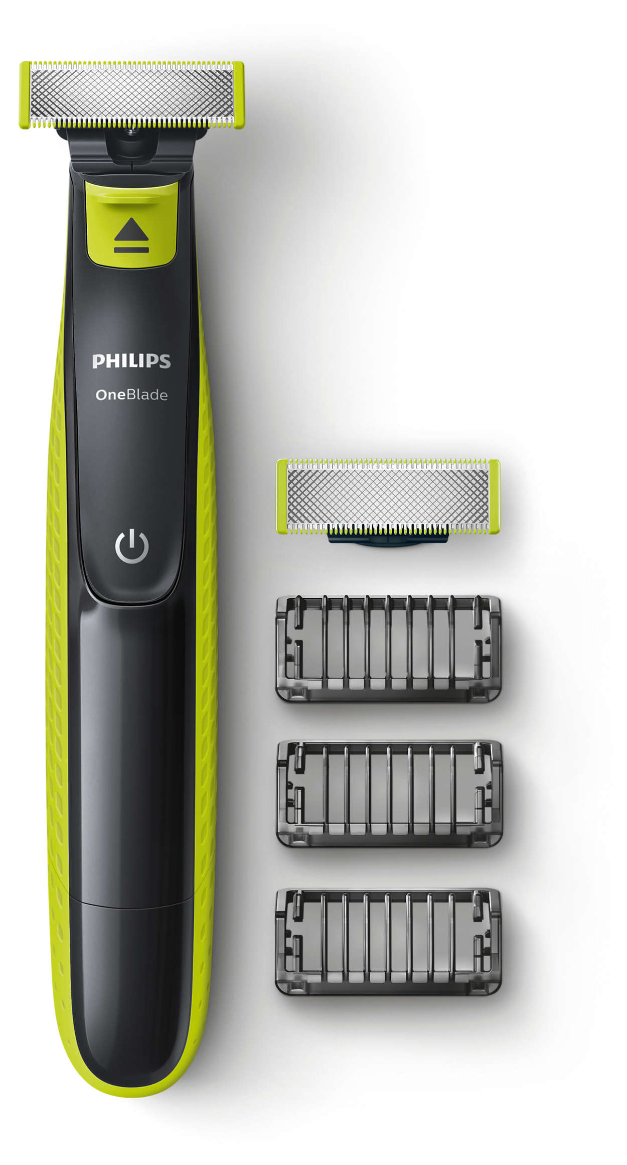 OneBlade to trim, edge and shave any length of hair