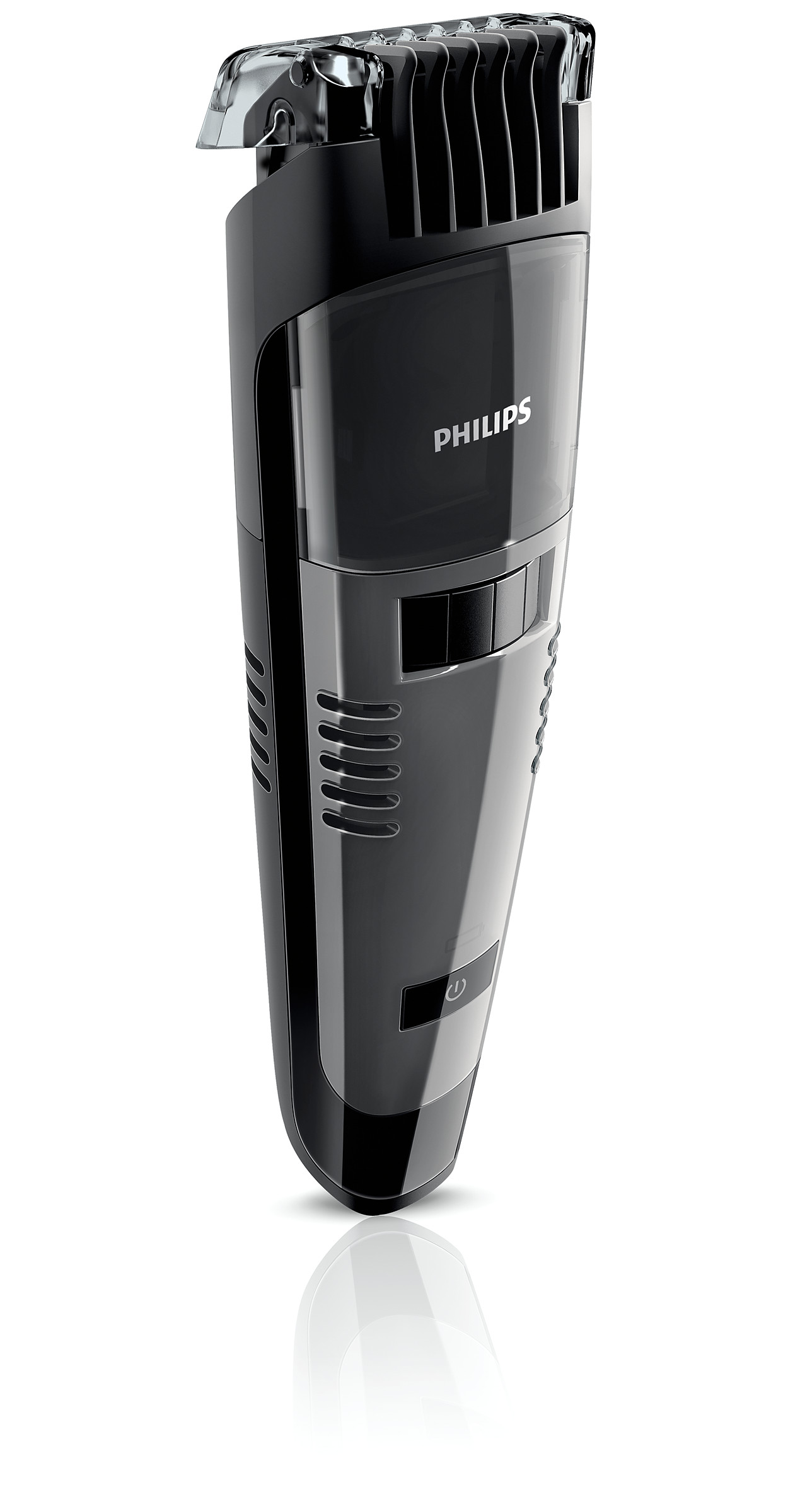buy the philips beardtrimmer series 7000 vacuum beard. Black Bedroom Furniture Sets. Home Design Ideas