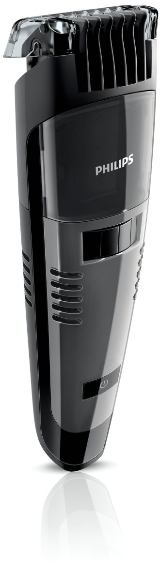 Philips  Vacuum beard trimmer 1mm precision settings QT4050/32