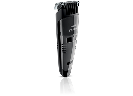 buy the norelco beardtrimmer 7100 series 7000 vacuum beard trimmer qt4050 41. Black Bedroom Furniture Sets. Home Design Ideas