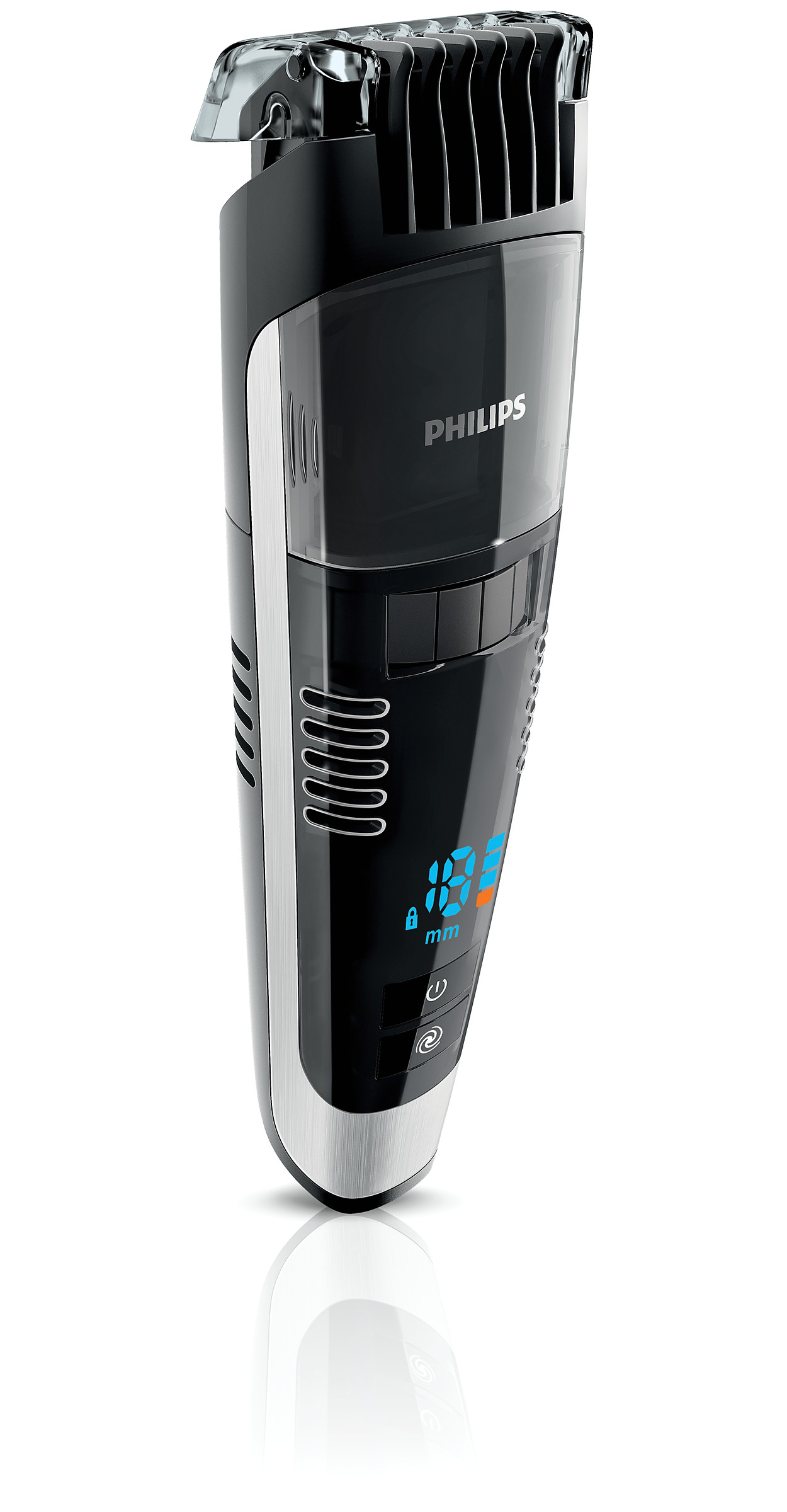 buy the philips beardtrimmer series 7000 vacuum beard trimmer qt4090 32. Black Bedroom Furniture Sets. Home Design Ideas