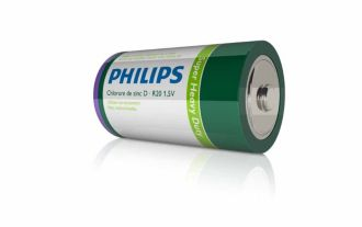 Philips  Battery D R20L2D/27