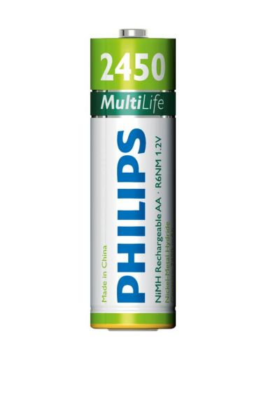 Philips  Battery AA, 2450 mAh R6B4A245/27