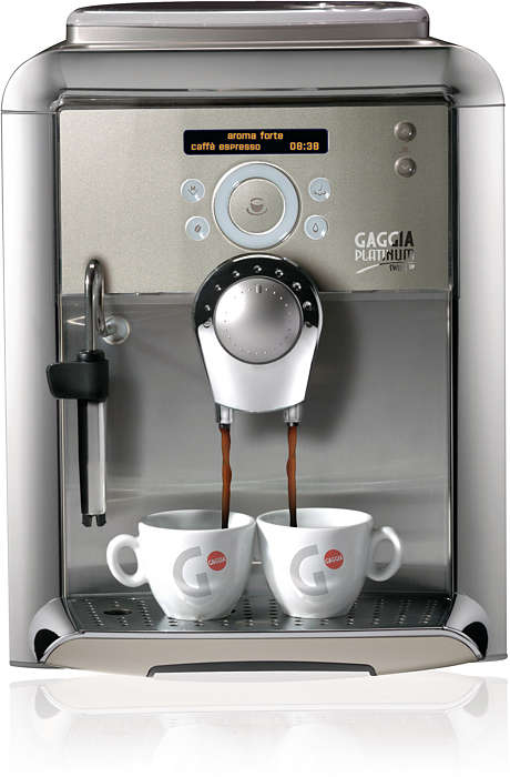 A SINGLE TOUCH TO TASTE A GREAT ITALIAN ESPRESSO