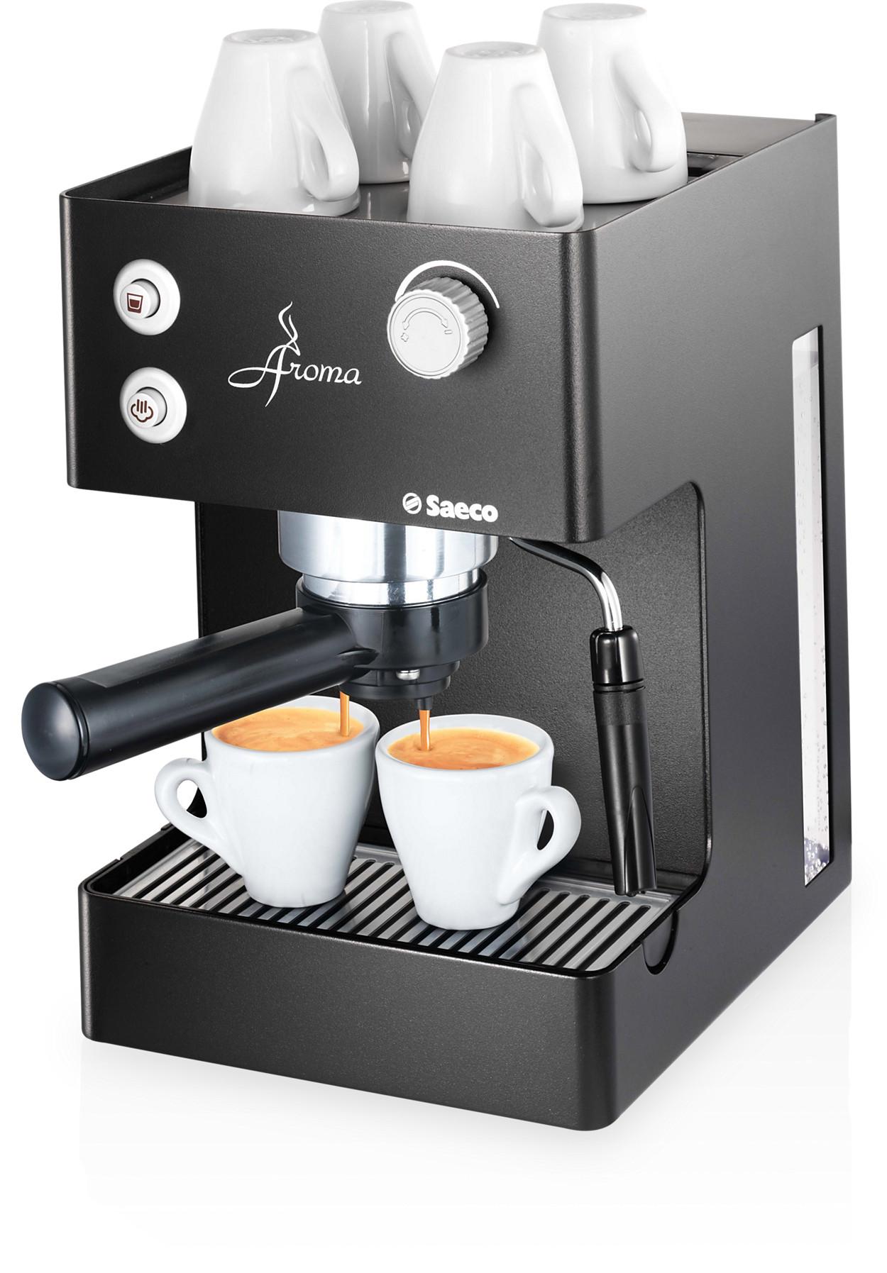 Buy the saeco aroma manual espresso machine ri9373 47 - Cafetiere a grain saeco ...