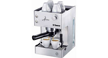Stainless steel Manual Espresso machine