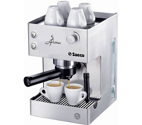 aroma manual espresso machine ri9376 04 saeco. Black Bedroom Furniture Sets. Home Design Ideas