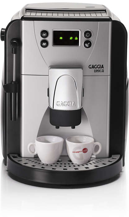 Gaggia UNICA will surprise you!